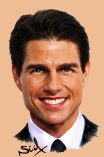 Tom Cruise by 3alilou